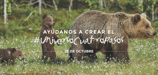 AYÚDANOS A CREAR EL #UNIVERSOCUATROPASOS