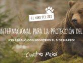 Ven a celebrar el Día Internacional para la protección de los osos del mundo.