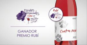 Cuatro Pasos Rosado_rubí Vino y Mujer