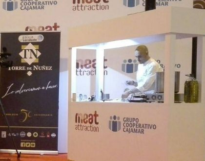 Showcooking with Cuatro Pasos in Meat Attraction