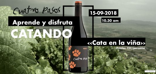 (Español) ¡Ven a disfrutar de la fiesta de la vendimia con Cuatro Pasos!