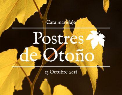 Celebramos el puente con vino y postres de otoño