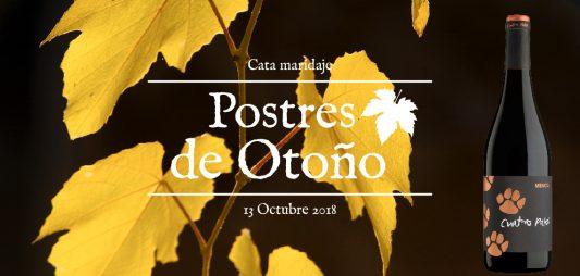(Español) Celebramos el puente con vino y postres de otoño