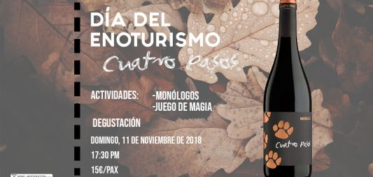 (Español) Humor, magia y vino para celebrar el Día Europeo del Enoturismo