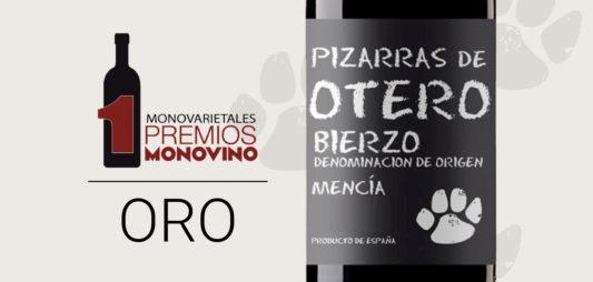PIZARRAS DE OTERO, ORO EN  MONO VINO 2017