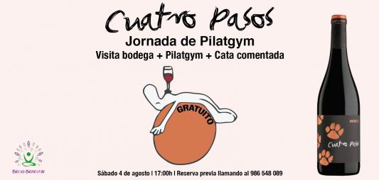 (Español) ¡Recibimos agosto con una clase de pilatgym y cata de nuestros vinos!